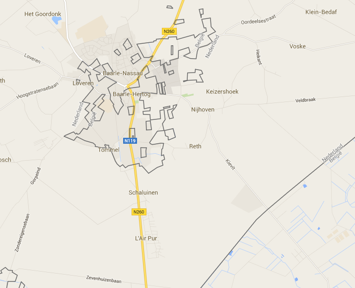 Baarle.nl map
